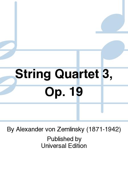 String Quartet 3, Op. 19