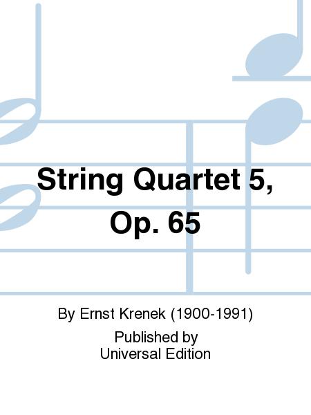 String Quartet 5, Op. 65