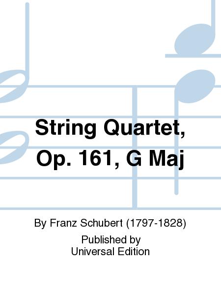 String Quartet, Op. 161, G Maj