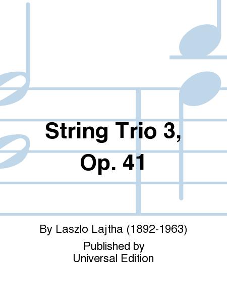 String Trio 3, Op. 41