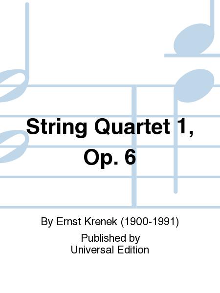 String Quartet 1, Op. 6