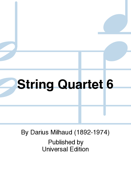 String Quartet 6