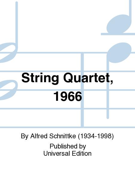 String Quartet, 1966