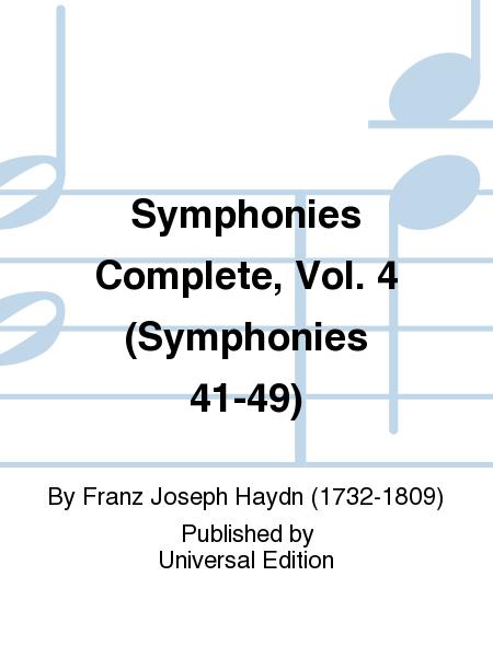 Symphonies Complete, Vol. 4 (Symphonies 41-49)