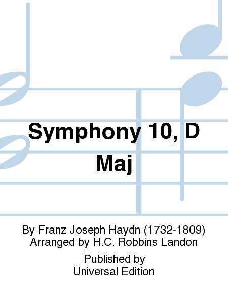 Symphony 10, D Maj