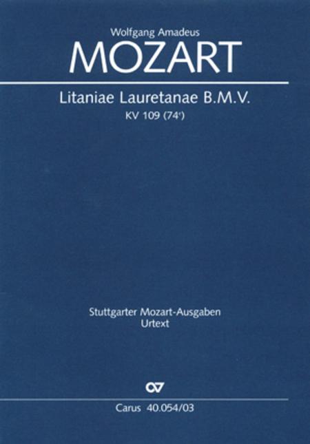 Litaniae Lauretanae B.M.V in B