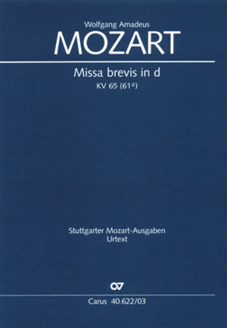 Missa brevis in D minor