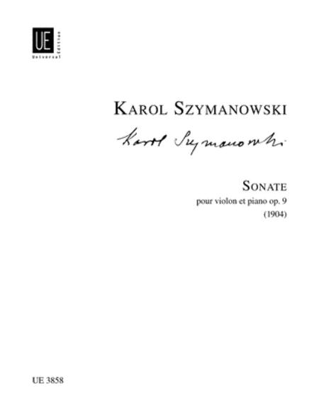 Violin Sonata, Op. 9