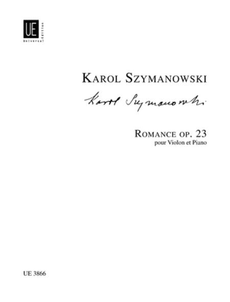 Romance, Op. 23, D Maj, Violin/Piano