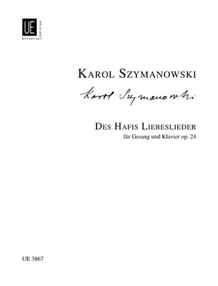 Hafis Liebeslieder, Op. 24
