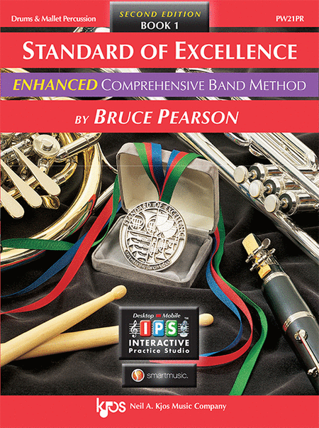Standard of Excellence Enhanced Book 1, Drums & Mallet Percussion