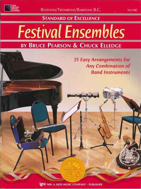 Standard of Excellence: Festival Ensembles-Bassoon/Trombone/Baritone B.C.