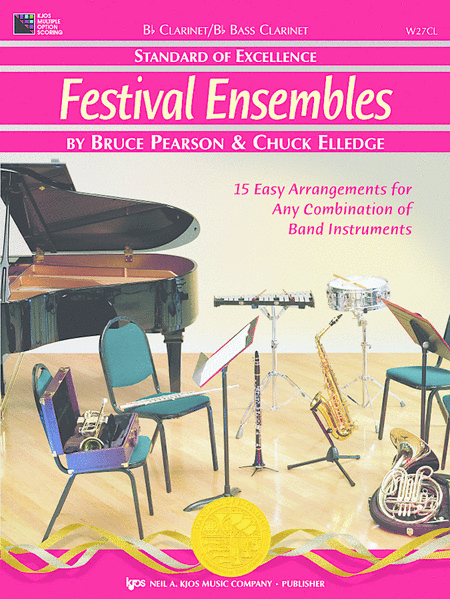 Standard of Excellence: Festival Ensembles-Clarinet/Bass Clarinet