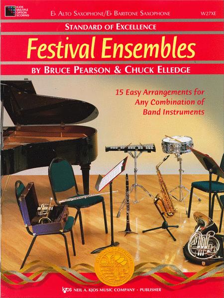 Standard of Excellence: Festival Ensembles-Alto/Baritone Sax