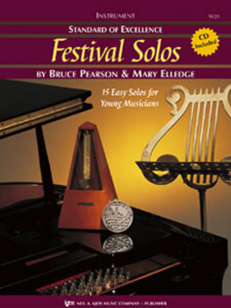 Standard of Excellence: Festival Solos - Bass Clarinet