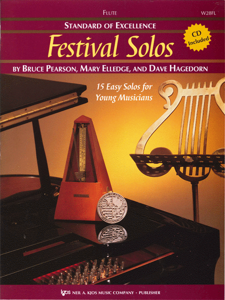Standard of Excellence: Festival Solos - Flute