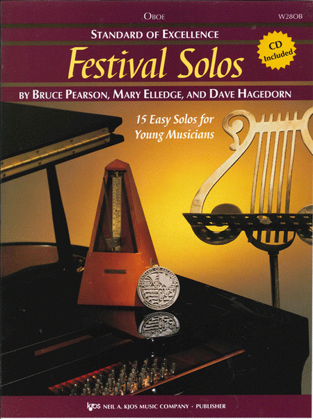 Standard of Excellence: Festival Solos - Oboe