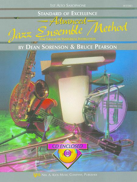 Standard of Excellence Advanced Jazz Ensemble Book 2, 1st Alto Saxophone