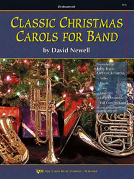 Classic Christmas Carols For Band - Trombone/Baritone B.C./Bassoon
