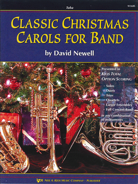 Classic Christmas Carols For Band - Tuba