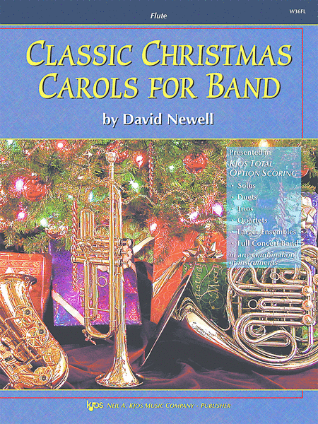 Classic Christmas Carols For Band - Flute