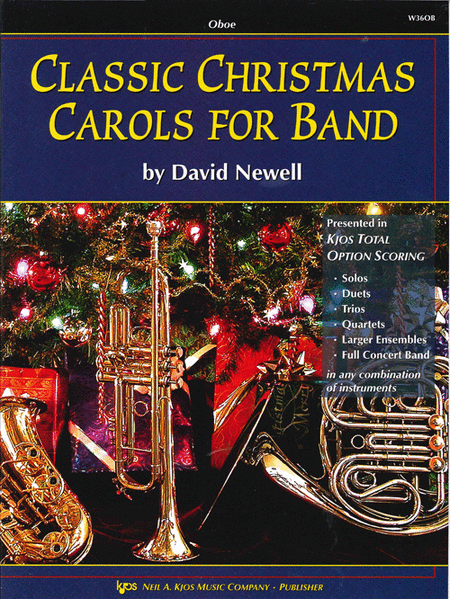 Classic Christmas Carols For Band - Oboe