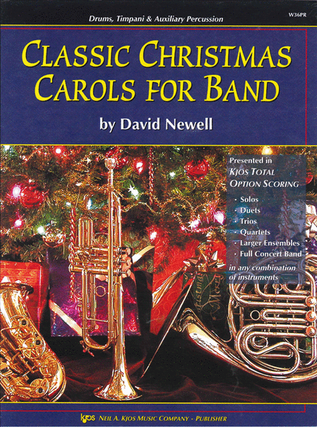 Classic Christmas Carols For Band - Drums/Timpani/Auxiliary Percussion