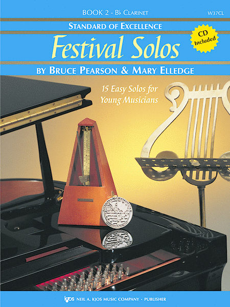 Standard of Excellence: Festival Solos Book 2 - Clarinet