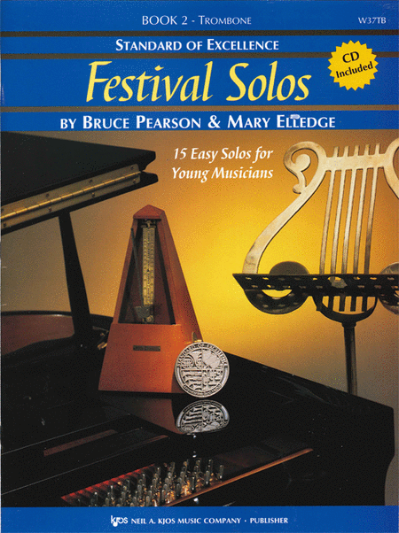 Standard of Excellence: Festival Solos Book 2 - Trombone