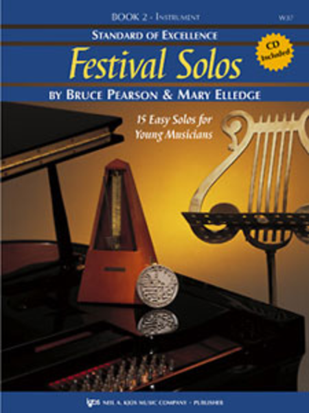 Standard of Excellence: Festival Solos Book 2 - Tenor Saxophone