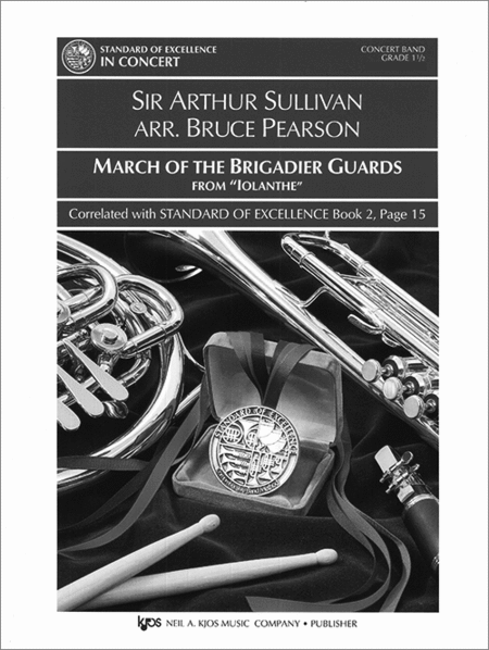 March Of The Brigadier Guards-Score