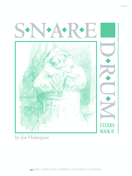 Snare Drum Etudes, Book II
