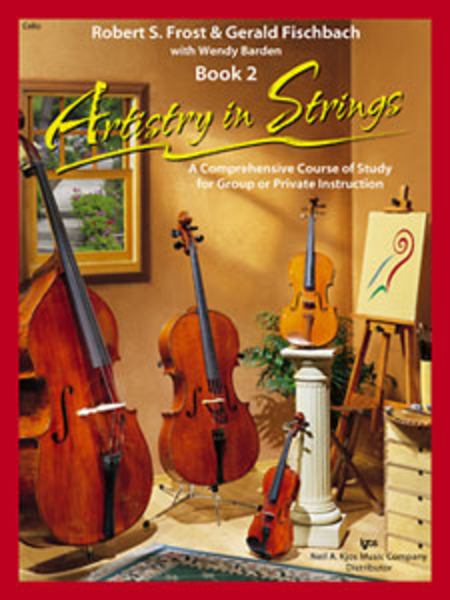 Artistry In Strings, Book 2 - Cello (Book Only)