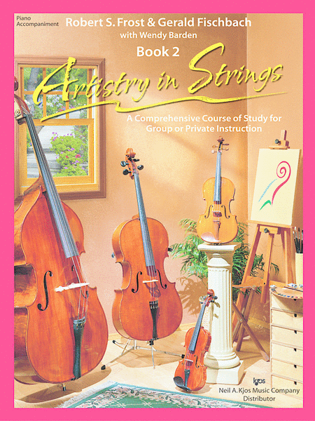Artistry in Strings, Book 2 - Piano Accompaniment