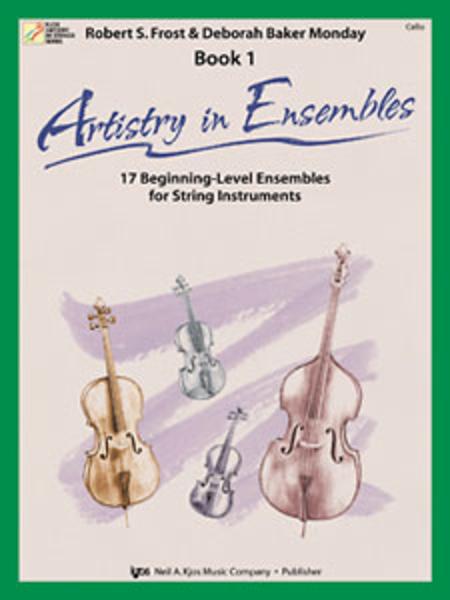 Artistry In Ensembles, Book 1 - Cello