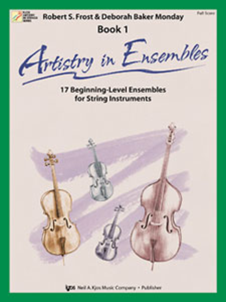 Artistry In Ensembles, Book 1 - Score