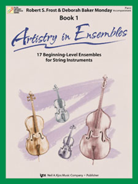 Artistry In Ensembles, Book1 - Piano Accmp