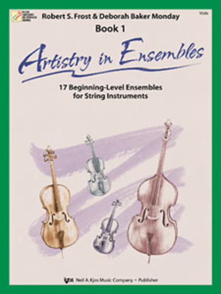 Artistry In Ensembles, Book 1 - Viola