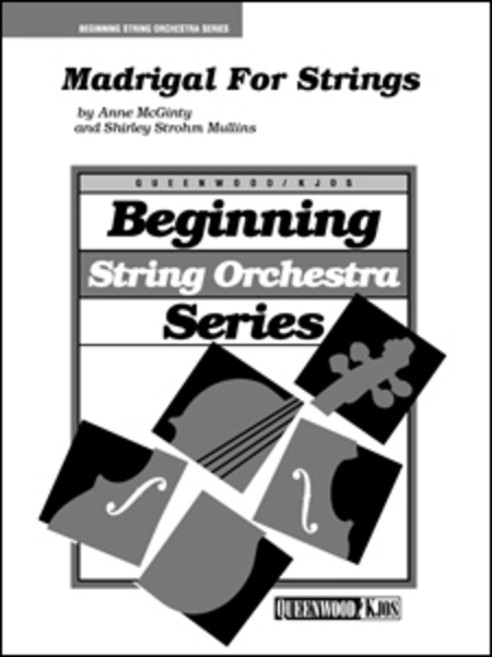 Madrigal For Strings - Score