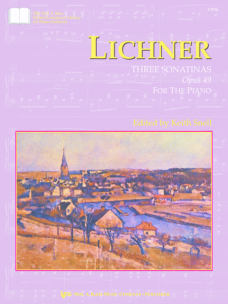 Lichner: Three Sonatinas, Opus 49
