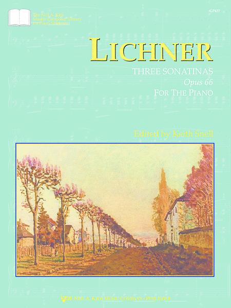 Lichner: Three Sonatinas, Opus 66