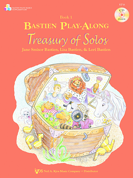 Bastien Play-Along, Treasury Of Solos, Book 1