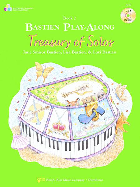 Bastien Play-Along: Treasury Of Solos, Book 2