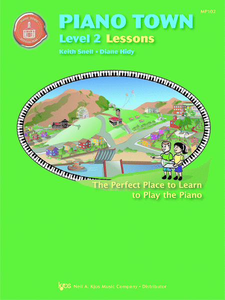 Piano Town, Lessons - Level 2