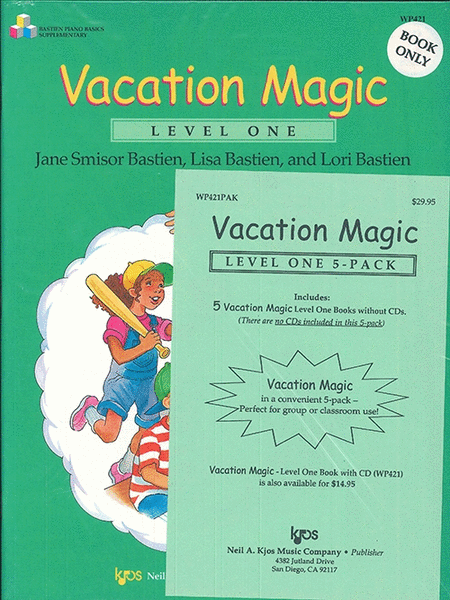 Vacation Magic - Level 1 (5-Pack)