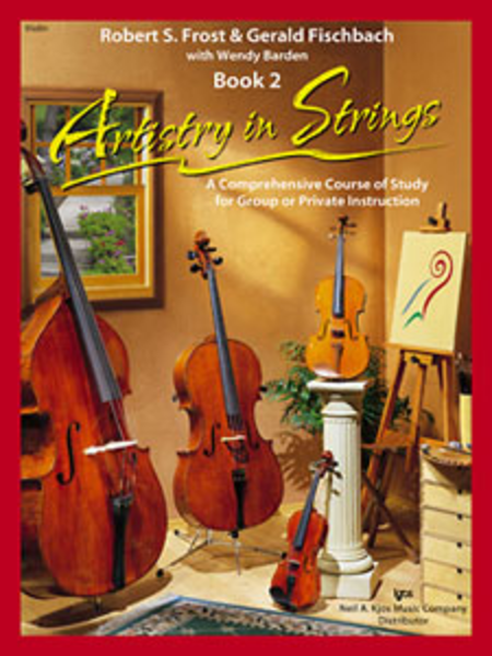 Artistry In Strings, Book 2 - Violin (Book & 2-CD)