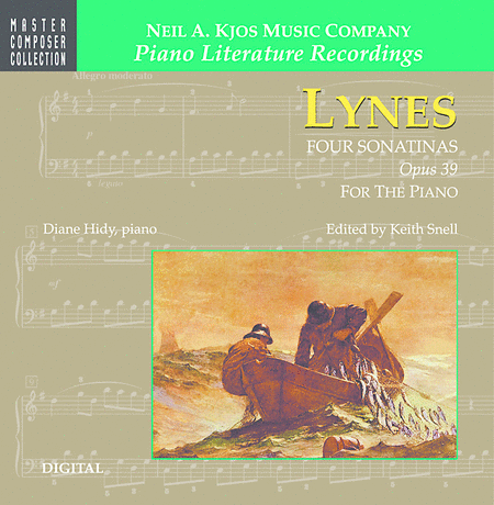 Lynes: Four Sonatinas, Opus 39 (CD)
