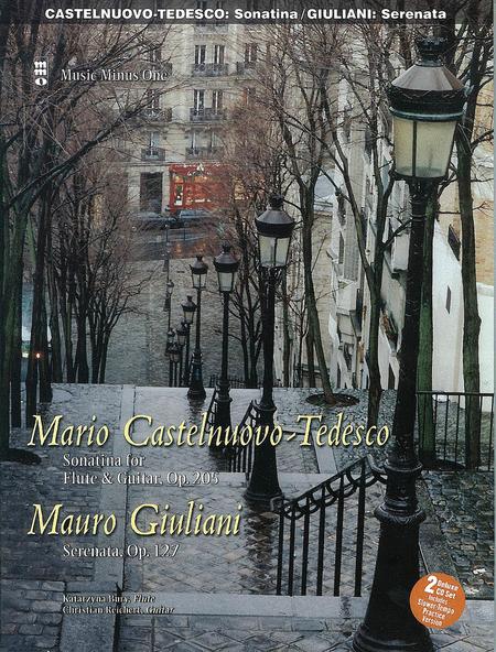 Castelnuovo-Tedesco: Sonatina & Giulini: Serenata Op. 127 for Guitar and Flute (Guitar Part)