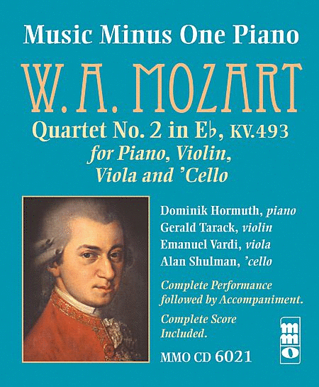 MOZART: Piano Quartet No. 2 in E-flat major, KV493