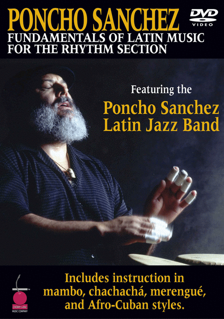 Poncho Sanchez - Fundamentals of Latin Music for the Rhythm Section (DVD)